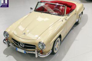 1959 MERCEDES BENZ 190 SL ROADSTER www.cristianoluzzago.it Brescia Italy (5)