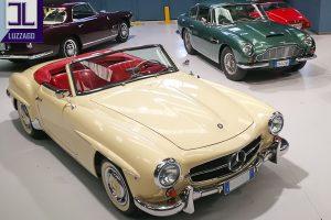 1959 MERCEDES BENZ 190 SL ROADSTER www.cristianoluzzago.it Brescia Italy (7)