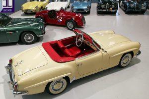 1959 MERCEDES BENZ 190 SL ROADSTER www.cristianoluzzago.it Brescia Italy (8)