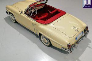 1959 MERCEDES BENZ 190 SL ROADSTER www.cristianoluzzago.it Brescia Italy (9)