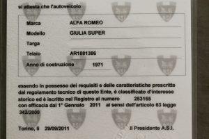 ALFA ROMEO GIULIA 1600 SUPER www.cristianoluzzago.it Brescia Italy (46