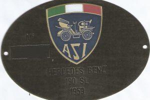 MERCEDES 190 SL www.cristianoluzzago.it ITALY (45)
