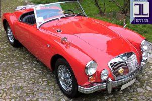 MG A 1600 ROADSTER www.cristianoluzzago.it Brescia 0