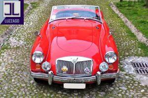 MG A 1600 ROADSTER www.cristianoluzzago.it Brescia 01
