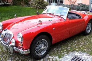 MG A 1600 ROADSTER www.cristianoluzzago.it Brescia 27