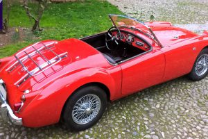 MG A 1600 ROADSTER www.cristianoluzzago.it Brescia 31