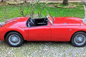 MG A 1600 ROADSTER www.cristianoluzzago.it Brescia 32