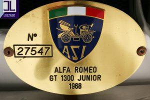 1968 ALFA ROMEO GT JUNIOR 1300 SCALINO www.cristianoluzzago.it Brescia Italy (51)