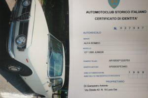 1968 ALFA ROMEO GT JUNIOR 1300 SCALINO www.cristianoluzzago.it Brescia Italy (53)