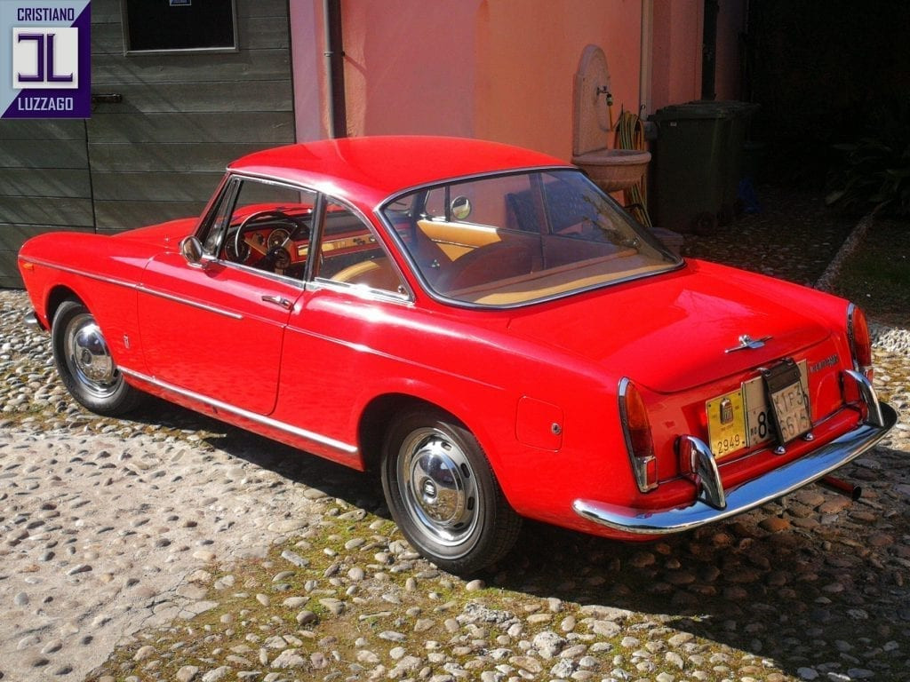 1966 Fiat 1500 Coupe U2019 Pininfarina -3 Owners Only
