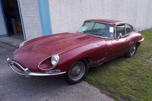 1968 Jaguar e type s1,5 for restoration www.cristianoluzzago.it Brescia Italy (1)