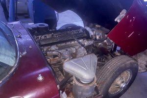 1968 Jaguar e type s1,5 for restoration www.cristianoluzzago.it Brescia Italy (11)