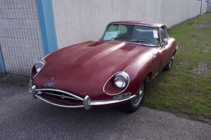 1968 Jaguar e type s1,5 for restoration www.cristianoluzzago.it Brescia Italy (2)