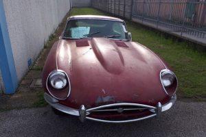 1968 Jaguar e type s1,5 for restoration www.cristianoluzzago.it Brescia Italy (3)