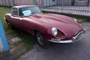 1968 Jaguar e type s1,5 for restoration www.cristianoluzzago.it Brescia Italy (4)