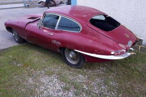 1968 Jaguar e type s1,5 for restoration www.cristianoluzzago.it Brescia Italy (5)