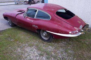 1968 Jaguar e type s1,5 for restoration www.cristianoluzzago.it Brescia Italy (5)