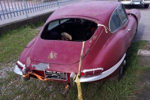 1968 Jaguar e type s1,5 for restoration www.cristianoluzzago.it Brescia Italy (7)