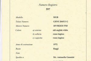 1972 MG B ROADSTER www.cristianoluzzago.it Brescia Italy (40