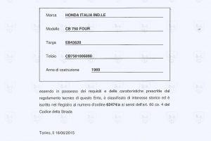 CERTIFICATO ASI0002