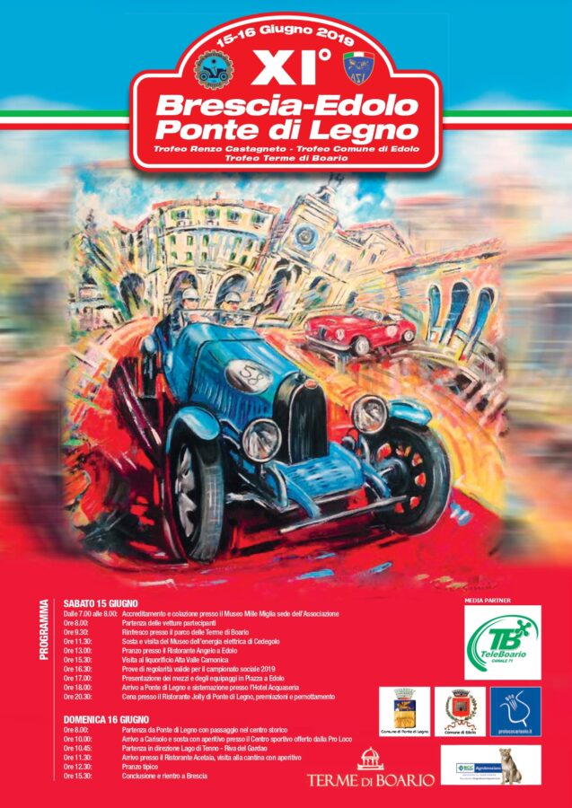 Brescia-Edolo-Ponte di Legno gather between taste and landscapes with Musical Watch Veteran Car Club