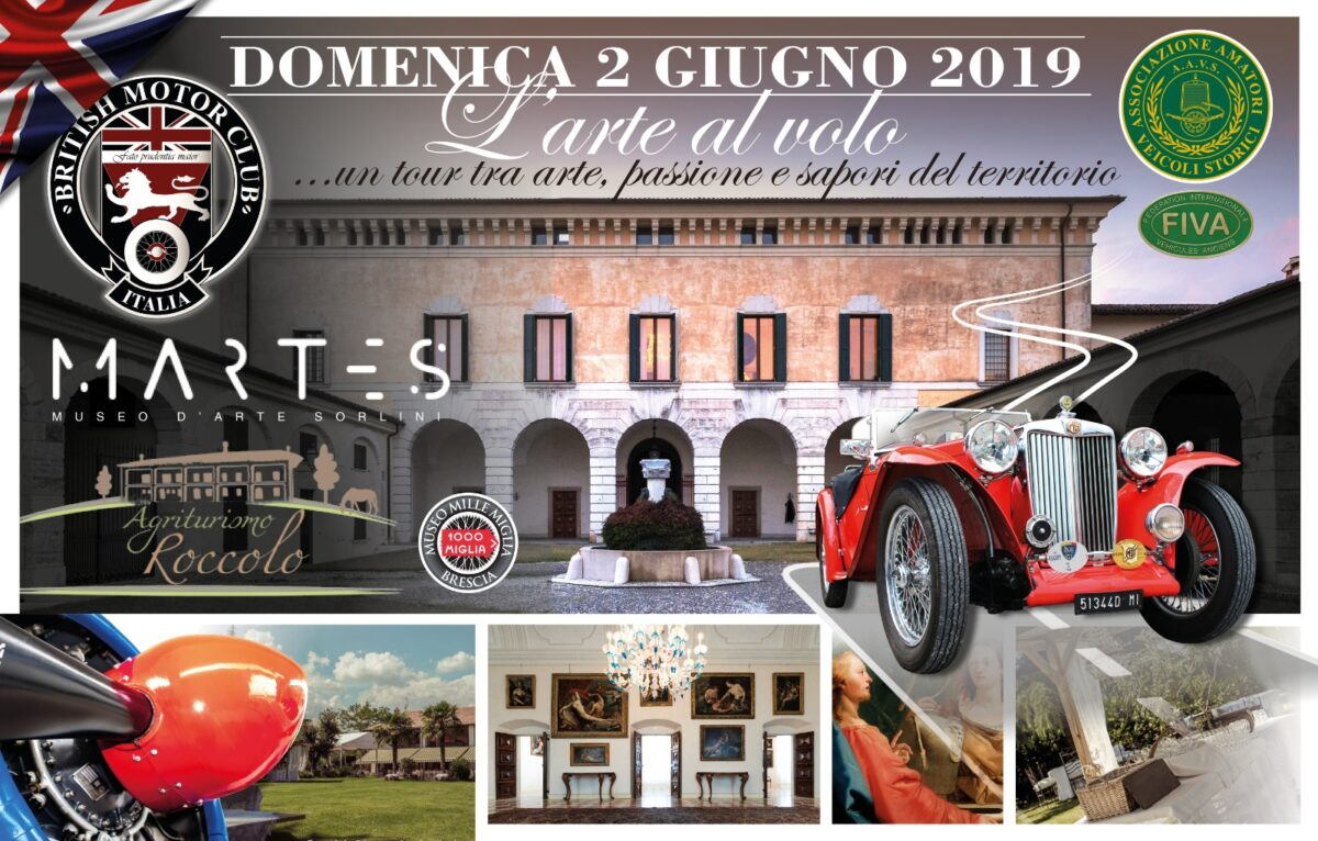 ART, VINTAGE AIRCRAFT and CLASSIC CARS with the BRITISH MOTOR CLUB ITALIA