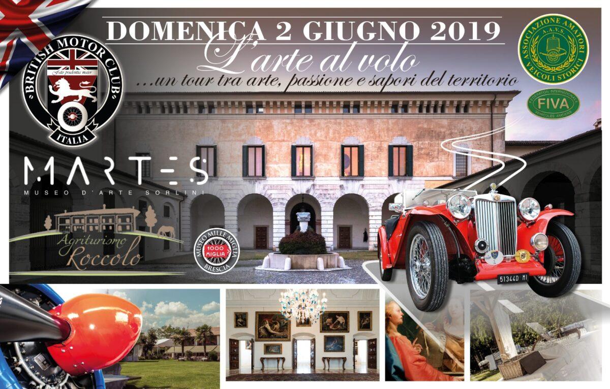 L'arte al volo. Arte, aerei e automobili d'epoca con Il British Motor Club Italia