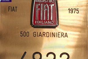 FIAT 500 GIARDINIERA 1975 www.cristianoluzzago.it brescia italy (33)