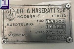 1961 MASERATI 3500 GT TOURING SUPERLEGGERA www.cristianoluzzago.it brescia italy (60)