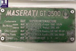 1961 MASERATI 3500 GT TOURING SUPERLEGGERA www.cristianoluzzago.it brescia italy (61)