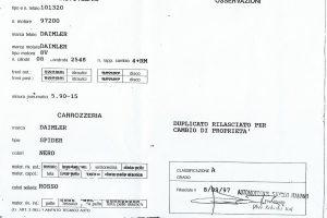 DAIMLER SP 250 DART www.cristianoluzzago.it Brescia Italy (49)