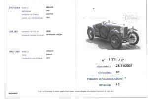 ACI CSAI 02 1924 AMILCAR CGS www.cristianoluzzago.it brescia italy