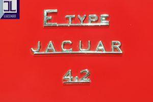 JAGUAR E TYPE S1 4200 ROADSTER www.cristianoluzzago.it brescia italy (36)