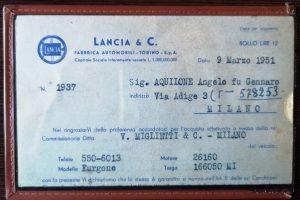 1951 LANCIA ARDEA FURGONETTA www.cristianoluzzago.it Brescia italy (34)