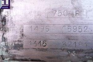1959 ALFA ROMEO GIULIETTA 750 F SPIDER VELOCE (82)