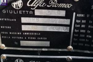 1957 ALFA ROMEO GIULIETTA www.cristianoluzzago.it Brescia Italy (47)