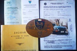 1969 JAGUAR E TYPE S2 4200 ROADSTER www.cristiaoluzzago.it brescia italy (39)