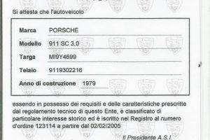 PORSCHE 911 SC 3000 1979 www.cristianoluzzago.it brescia italy (58