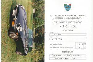 JAGUAR E TYPE S2 FHC 1969 www.cristianoluzzago.it Brescia italy (35