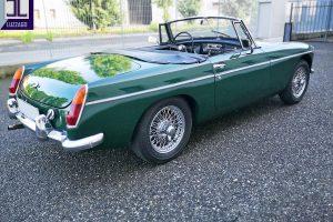 MGB ROADSTER S1 1964 www.cristianoluzzago.it Brescia Italy (13)