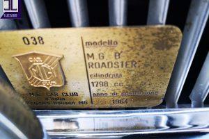 MGB ROADSTER S1 1964 www.cristianoluzzago.it Brescia Italy (28)