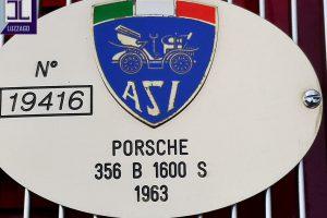 PORSCHE 356 B 1600S 1963 www.cristianoluzzago.it Brescia Italy (23)