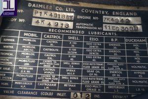 1969 DAIMLER 2500 V8 SALOON www.cristianoluzzago.it brescia italy (36)