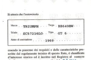 1969 TRIUMPH GT6 MK2 www.cristianoluzzago.it Brescia Italy (39)