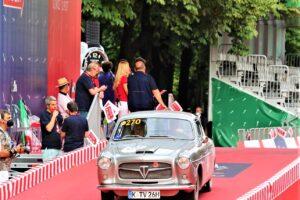 FIAT 1100 TV COUPE PINIFARINA 1000 miglia 2021 cristiano luzzago brescia italy (1)