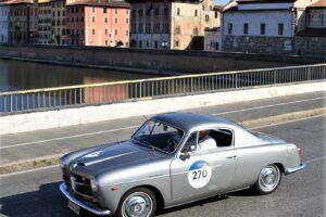FIAT 1100 TV COUPE PINIFARINA 1000 miglia 2021 cristiano luzzago brescia italy (2)