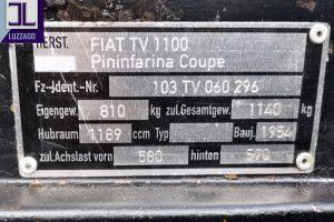 FIAT 1100 TV COUPE' PININFARINA www.cristianoluzzago.it brescia italy (86)