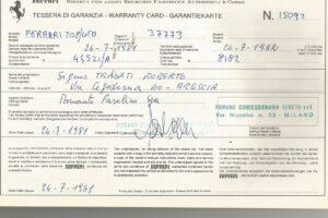 1981 FERRARI 208 GTB www.cristianoluzzago.it Brescia Italy (47)