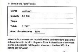 JAGUAR XK 140 DHC www.cristianoluzzago.it brescia italy (44)