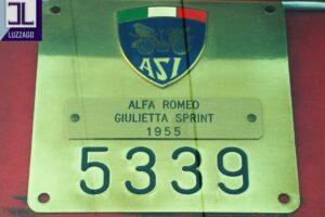 1955 ALFA ROMEO GIULIETTA SPRINT S1 www.cristianoluzzago.it Brescia Italy (41)